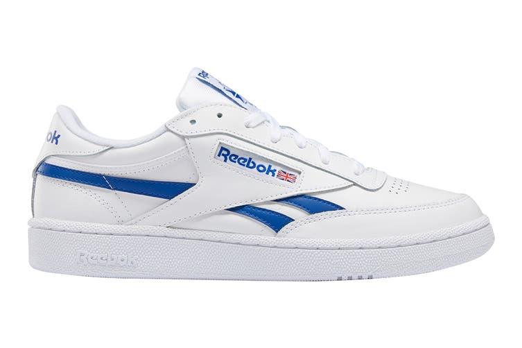 Reebok Men's Club C Revenge Sneaker (White/Collegiate Royal, Size 12 US)