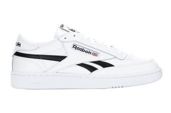 Reebok Men's Club C Revenge Sneaker (White/White/Black)