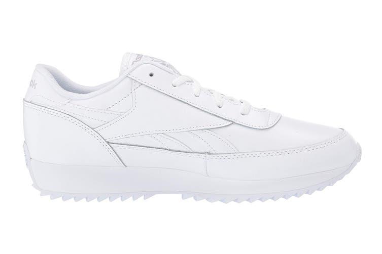 Reebok Women's Classic Renaissance Ripple Sneaker (White/Steel, Size 6.5 US)