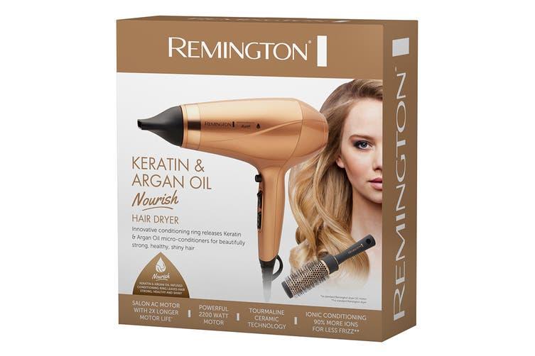 Remington Keratin & Argan Oil Nourish 2200W Hair Dryer (AC8820AU)