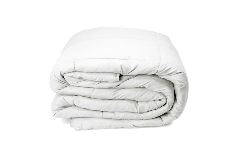 Royal Comfort Pure Soft Deluxe 50% Duck Feather and 50% Down Quilt (Single)
