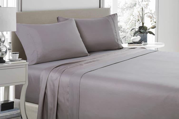 Royal Comfort 1200TC Ultrasoft Microfibre Bed Sheet Set (King, Charcoal)