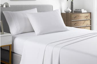 Royal Comfort 2000TC Bamboo Blend Cooling Sheet Set (White)