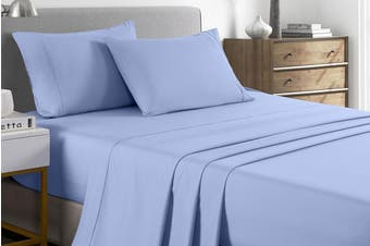 Royal Comfort 2000TC Bamboo Blend Cooling Sheet Set (Light Blue)