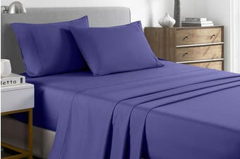 Royal Comfort 2000TC Bamboo Blend Cooling Sheet Set (Royal Blue)
