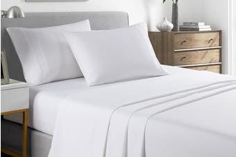 Royal Comfort 2000TC Bamboo Blend Cooling Sheet Set (White)