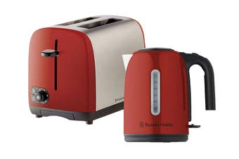 Russell Hobbs Cambridge Breakfast Pack - Red (RHBP4RED)