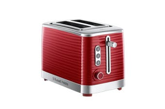 Russell Hobbs Inspire 2 Slice Toaster - Red (RHT112RED)