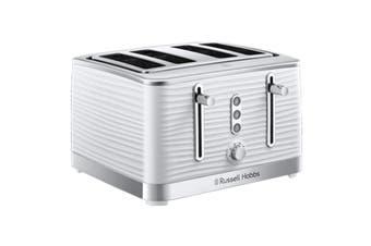 Russell Hobbs Inspire 4 Slice Toaster - White (RHT114WHI)