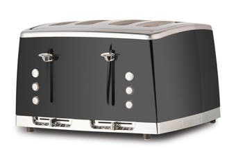 Russell Hobbs Lunar 4 Slice Toaster - Moonlight Grey (RHT64GRY)