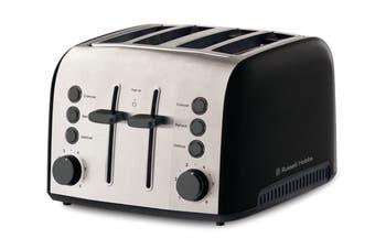 Russell Hobbs Brooklyn 4 Slice Toaster - Black (RHT94BLK)