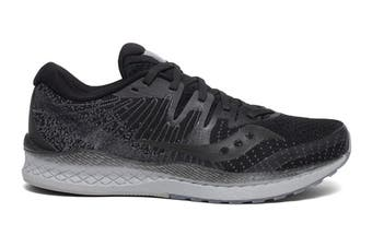 Saucony Women's Liberty ISO 2 Running Shoe (Black Out)