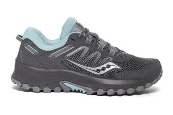 Saucony Women's Versafoam Excursion TR13 Running Shoe (Charcoal, Size 8.5 US)