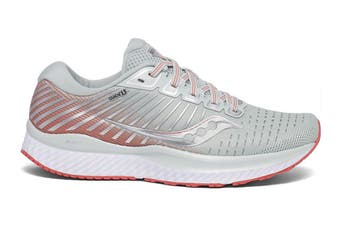 Saucony Women's Guide 13 Running Shoe (Grey/Charcoal, Size 10 US)