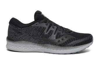 Saucony Men's Liberty ISO 2 Running Shoe (Black Out, Size 9.5 US)