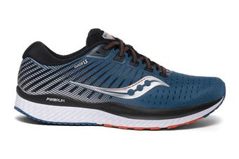 Saucony Men's Guide 13 Running Shoe (Blue/Silver, Size 12 US)