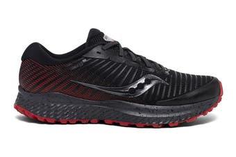 Saucony Men's Guide ISO 13 TR Running Shoe (Black/Red)