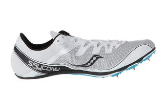 Saucony Men's Ballista 2 Running Shoe (White/Black, Size 8.5 US)