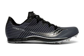 Saucony Men's Vendetta 2 Running Shoe (Grey/Black, Size 14 US)