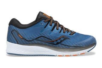 Saucony Kids Ride ISO 2 Running Shoe (Blue)