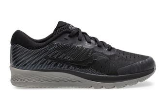 Saucony Kids Guide 13 Running Shoe (Black Out)
