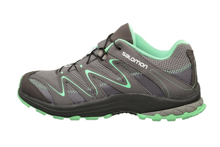 Salomon Women's Trail Score (Light Grey / Mint, Size 7.5)