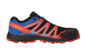 Salomon Men's Shoes Speedtrak (Black/Blue Yonder/Lava Orange)