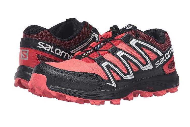 Salomon Women's Speedtrak (Coral Punch/Black, Size 4.5)