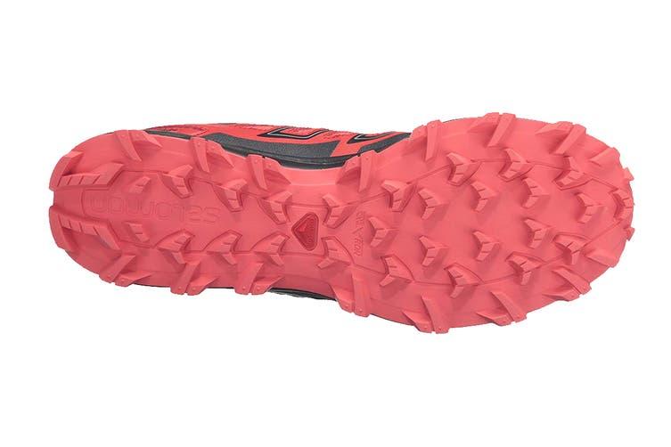 Salomon Women's Speedtrak (Coral Punch/Black, Size 5.5)