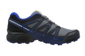 Salomon Men's Shoes Speedcross Vario Pearl (Grey/Black/Blue)