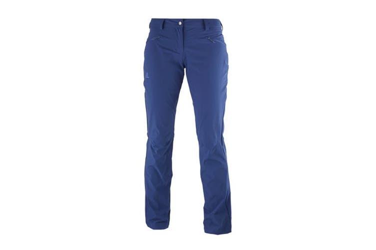 Salomon Wayfarer Utility Pants Women's (Medieval Blue, Size 34R)