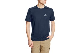 Salomon Trail Runner Short Sleeve Tee Men's (Dress Blue)