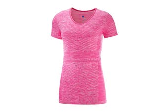 Salomon Elevate Move'On Short Sleeve Tee Women's (Pink Yarrow)