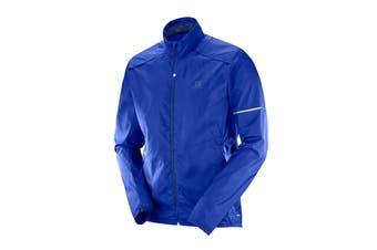 Salomon Agile Wind Jacket (Surf The Web, Size M)