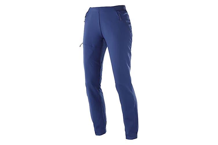 Salomon Outspeed Pants Women's (Medieval Blue, Size Small)