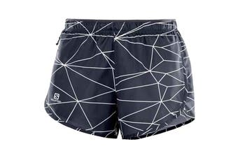 Salomon Agile Shorts Women's (Graphite/White)