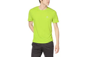 Salomon Agile Short Sleeve Tee Men's (Acid Lime)