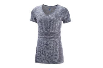 Salomon Elevate Move'On Short Sleeve Tee Women's (Graphite)