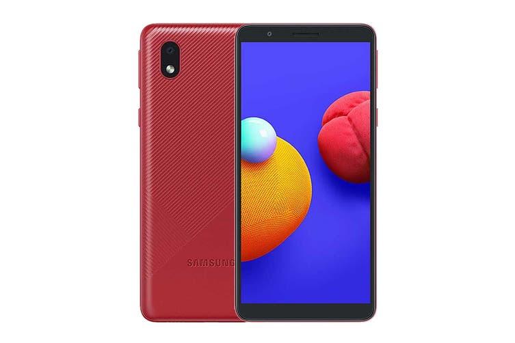 Samsung Galaxy A01 Core Dual SIM (16GB, Red)