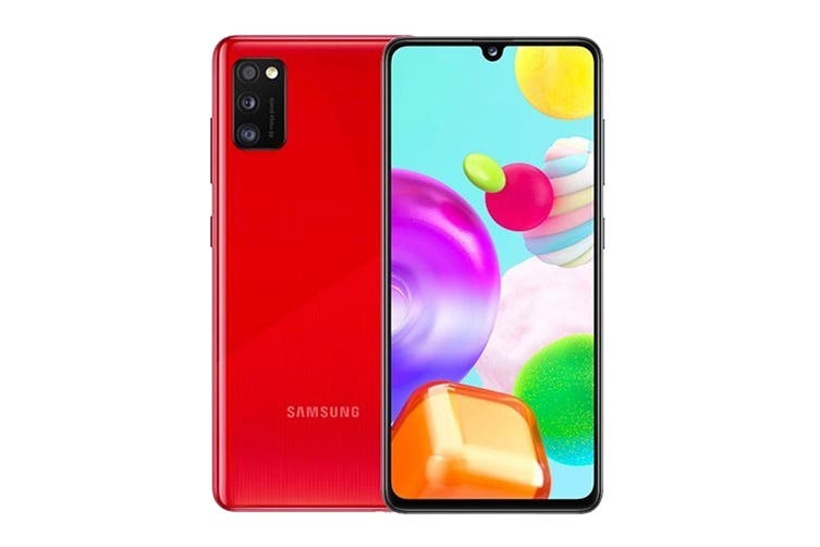 Samsung Galaxy A41 Dual SIM (64GB, Red)