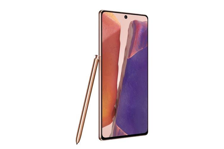 Samsung Galaxy Note20 5G Dual SIM (128GB, Mystic Bronze)