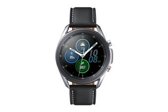 Samsung Galaxy Watch 3 (45mm, Bluetooth, Mystic Silver)