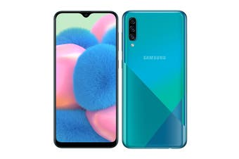 Samsung Galaxy A30s Dual SIM (4GB RAM, 128GB, Prism Crush Green)
