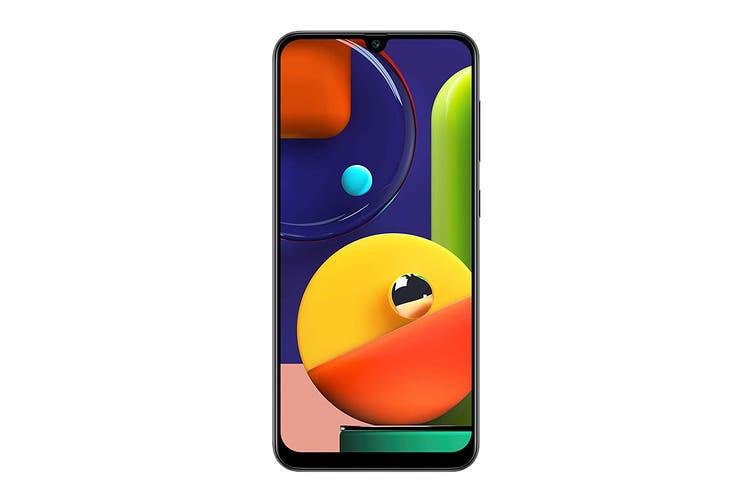 Samsung Galaxy A50s Dual SIM (4GB RAM, 128GB, Prism Crush Black)
