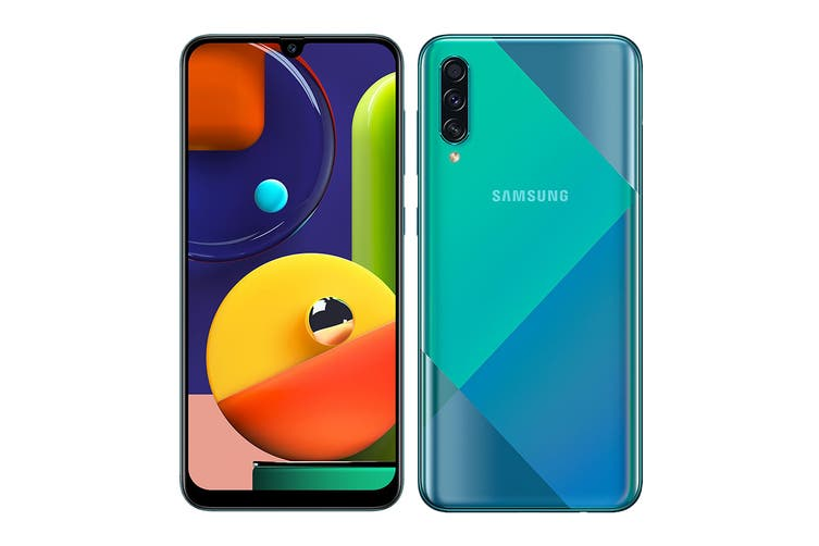 Samsung Galaxy A50s Dual SIM (4GB RAM, 64GB, Prism Crush Green)