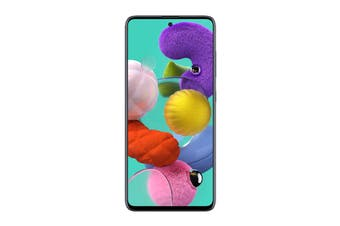Samsung Galaxy A51 Dual SIM (6GB RAM, 128GB, Prism Crush Black)