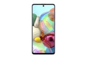 Samsung Galaxy A71 Dual SIM (6GB RAM, 128GB, Prism Crush Silver)