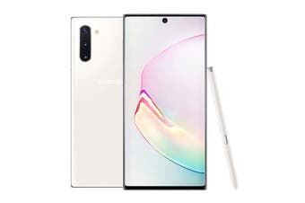 Samsung Galaxy Note10 Dual SIM (256GB, Aura White)