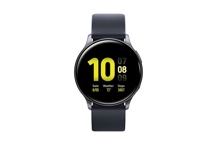 Samsung Galaxy Watch Active 2 SM-R820 (44mm, Bluetooth, Aqua Black) - AU/NZ Model