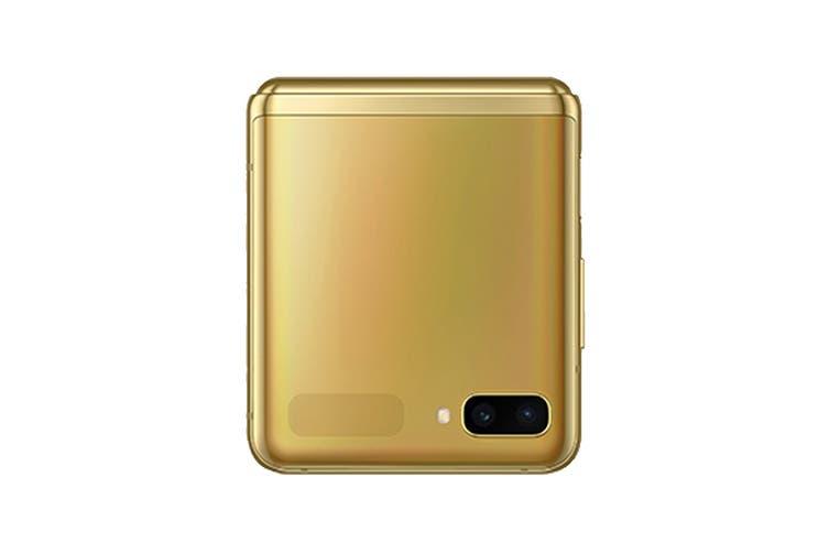 Samsung Galaxy Z Flip Dual SIM (8GB RAM, 256GB, Mirror Gold)